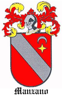 Manzano - Spanish Coat of Arms