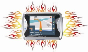 GPS in Flames